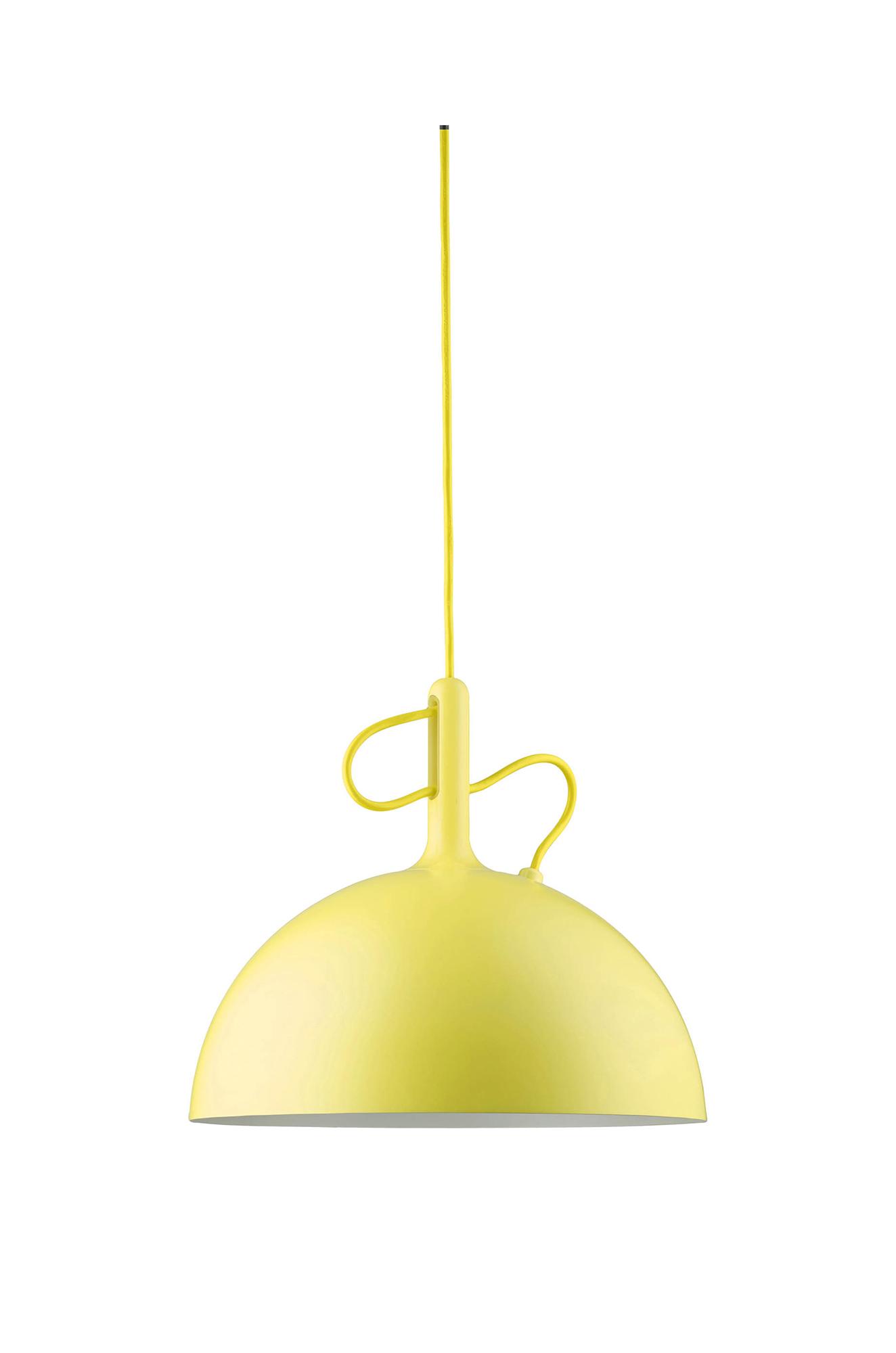 Image of   Adjustable Pendant (Yellow) Ø30 cm