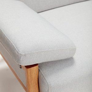 Rafael 2. pers. Sofa – grå