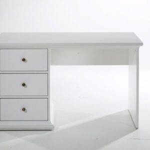 Paris skrivebord - hvid træ