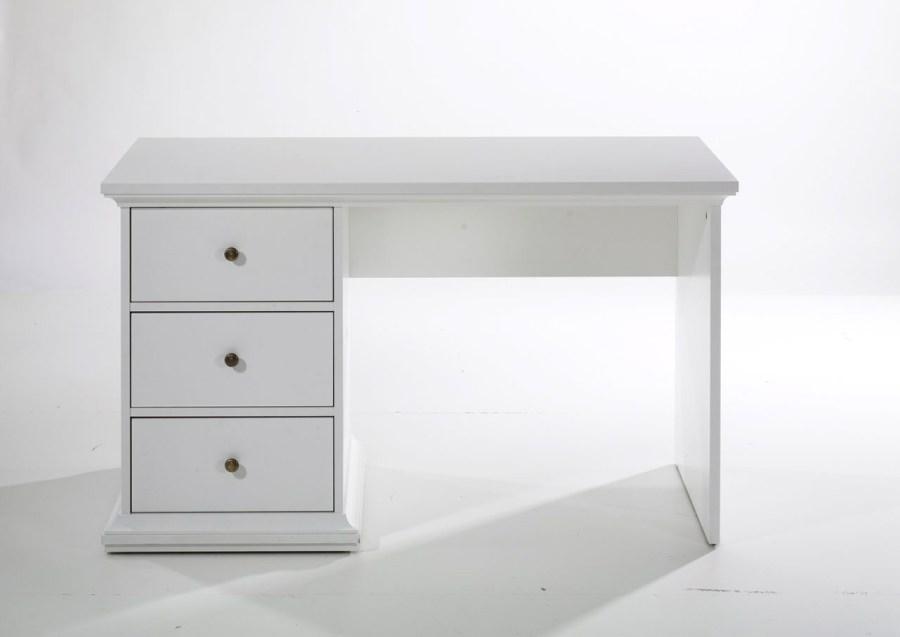 Image of   Paris skrivebord - hvid træ