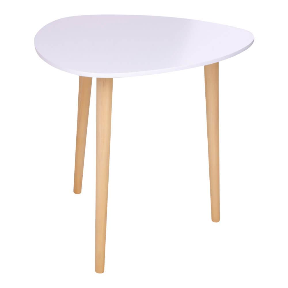 House Nordic hjørnebord – hvid