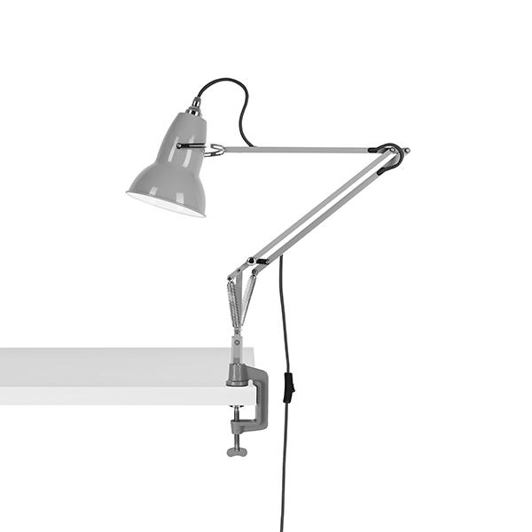 Anglepoise Original 1227 Lampe M. Klemme Dove Grey