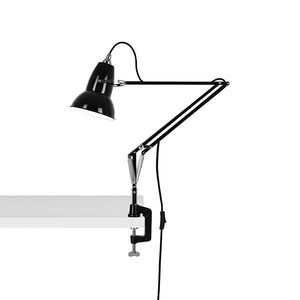 Anglepoise Original 1227 Lampe M. Klemme Jet Black