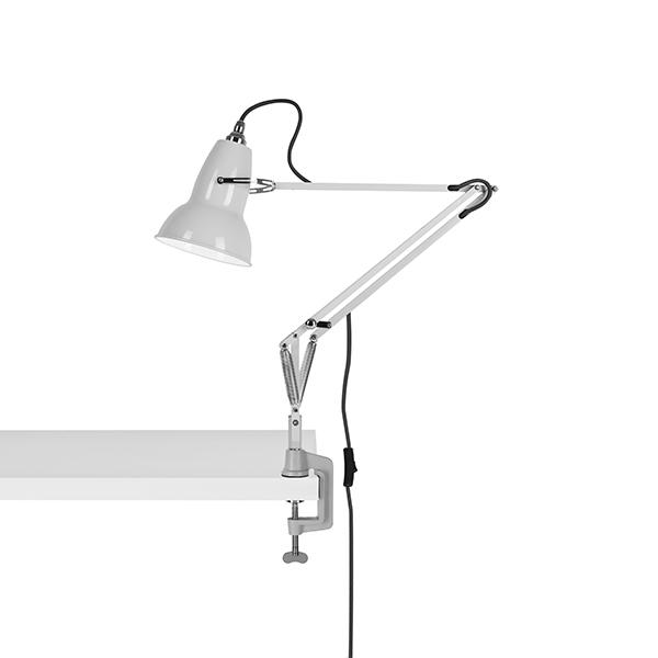 Anglepoise Original 1227 Lampe M. Klemme Linen White