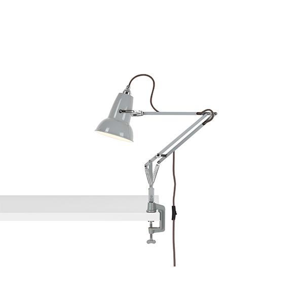 Anglepoise Original 1227 Mini Lampe M. Klemme Dove Grey