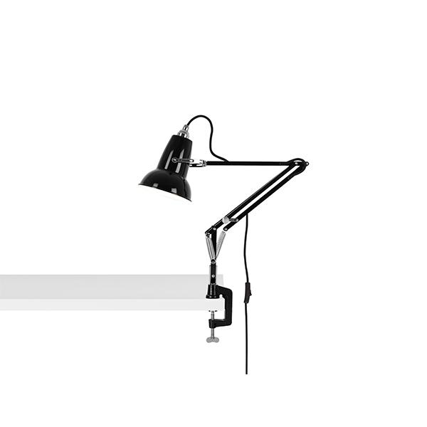 Anglepoise Original 1227 Mini Lampe M. Klemme Jet Black