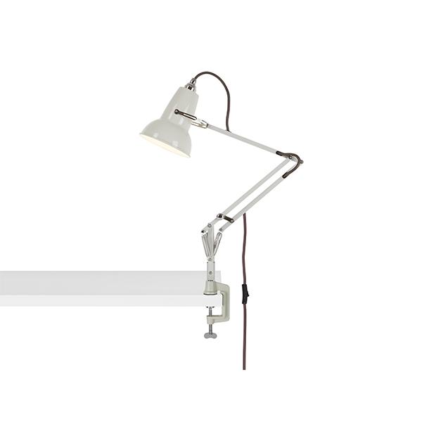 Anglepoise Original 1227 Mini Lampe M. Klemme Linen White