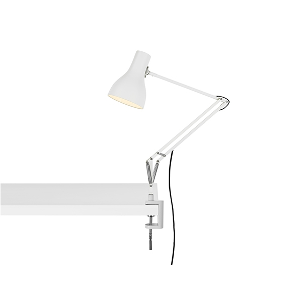 Anglepoise Type 75 Lampe M. Klemme Alpine White