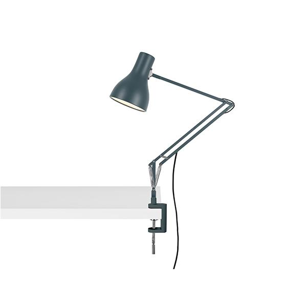 Anglepoise Type 75 Lampe M. Klemme Slate Grey