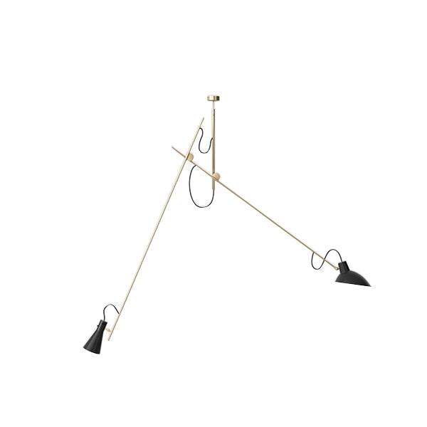 Astep VV Cinquanta Loftlampe Suspension Messing/Sort