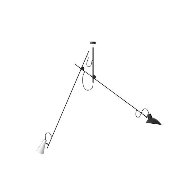 Astep VV Cinquanta Loftlampe Suspension Sort/Hvid