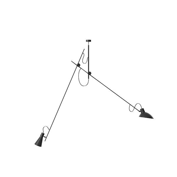 Astep VV Cinquanta Loftlampe Suspension Sort/Sort