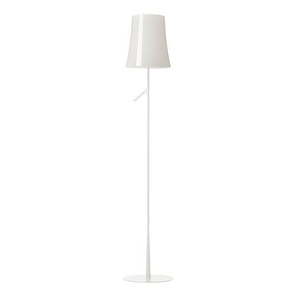 Foscarini Birdie Gulvlampe Hvid LED