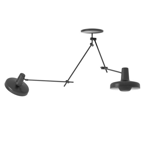 Grupa Products Arigato Double Loftlampe Sort