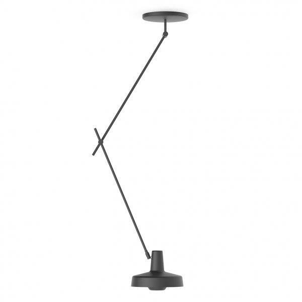 Grupa Products Arigato Loftlampe Lang Sort
