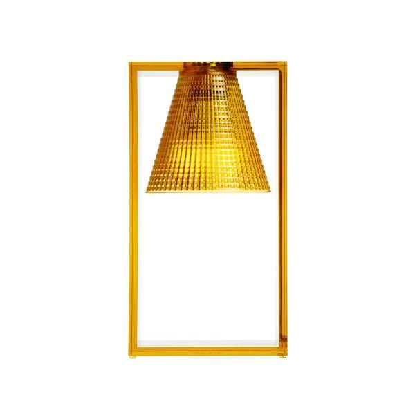 Kartell Light-Air Bordlampe Sculpted Amber