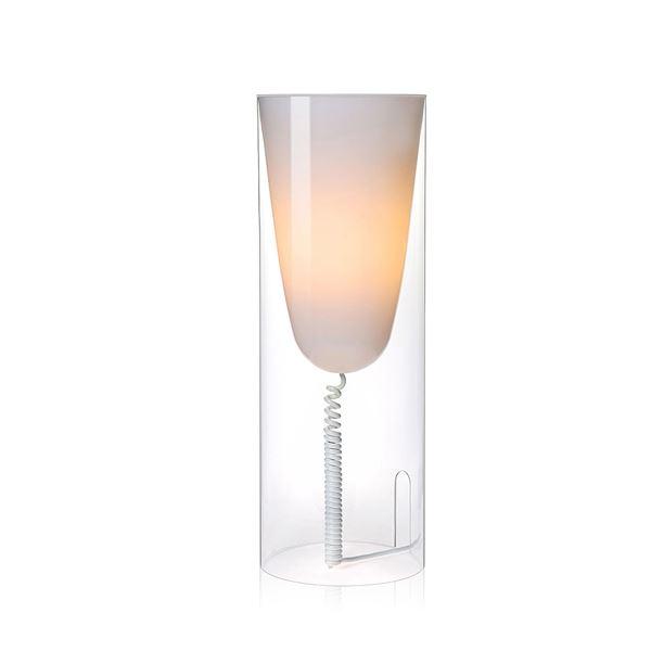 Kartell Toobe Bordlampe Krystal