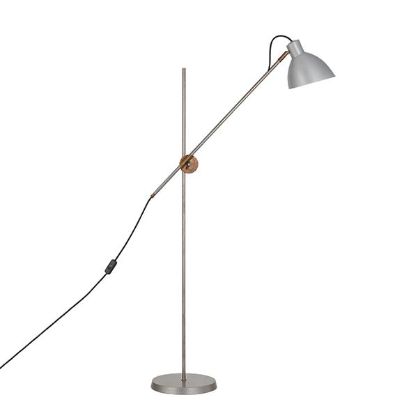 Konsthantverk KH#1 Gulvlampe - Rå Messing & Rå Jern