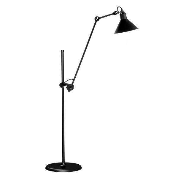 Lampe Gras N215 Gulvlampe Mat Sort