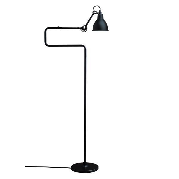 Lampe Gras N411 Gulvlampe Mat Sort