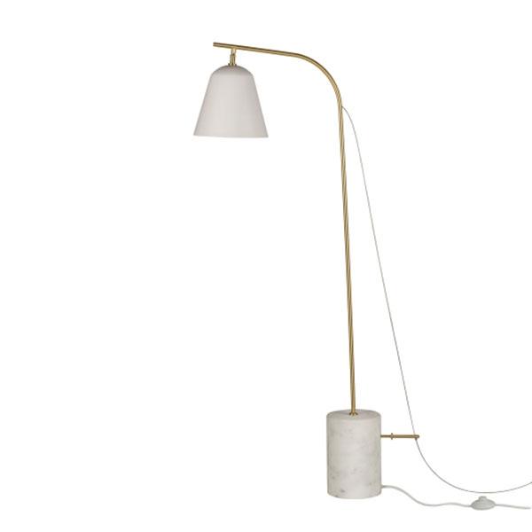 NORR11 Line One Gulvlampe Hvid