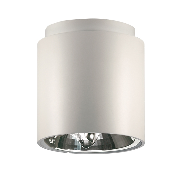 Nemo Cilindro Loftlampe Hvid