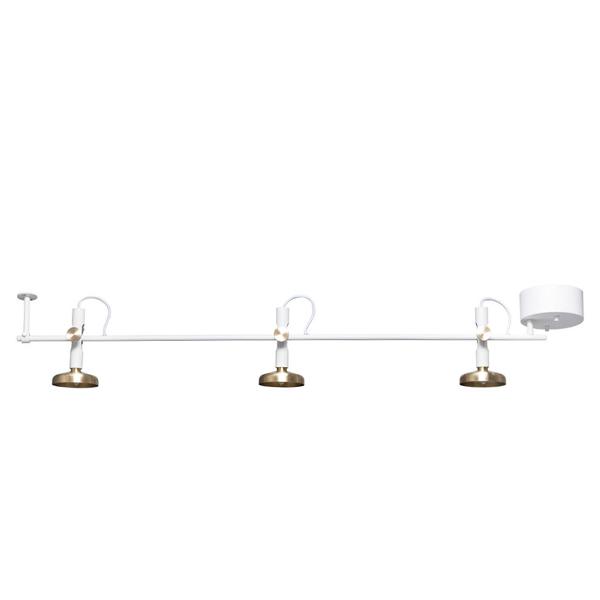 Pholc BLEND 3 Spot Loftlampe Hvid/Messing