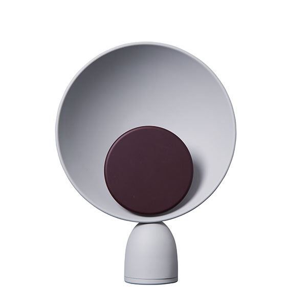 Please Wait to be Seated Blooper Table Lamp Purple Dimmer