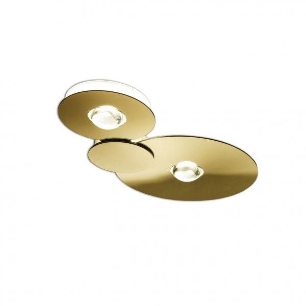 Studio Italia Bugia PL2 Loftlampe Guld