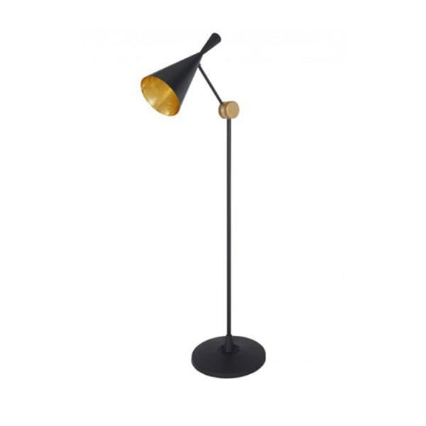 Tom Dixon Beat Gulvlampe Beat Sort & Messing