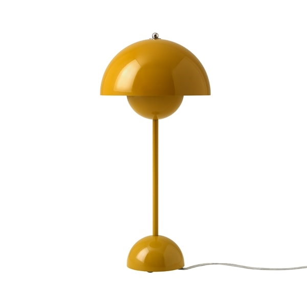 &Tradition Flowerpot VP3 Bordlampe Sennepsgul