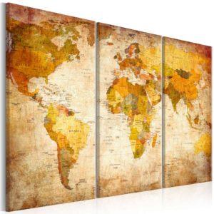 ARTGEIST Antique rejse billede - multifarvet print, 2 størrelser 120x80