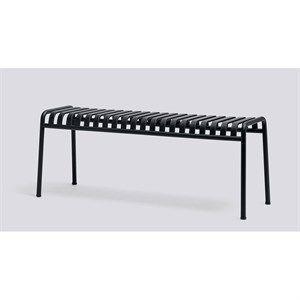 HAY havemøbel - Palissade bænk i anthracite