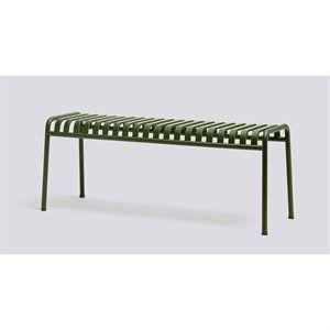 HAY havemøbel - Palissade bænk i olive