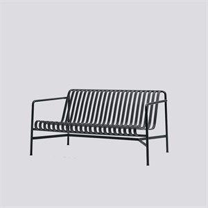 HAY havemøbel - Palissade lounge sofa i anthracite
