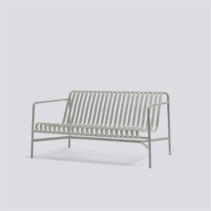 HAY havemøbel - Palissade lounge sofa i lysegrå
