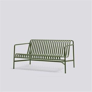 HAY havemøbel - Palissade lounge sofa i olivengrøn