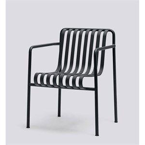 HAY havemøbel - Palissade spisebordsstol i anthracite
