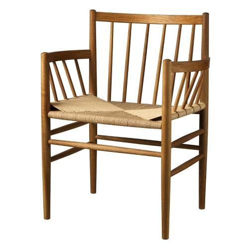 Jørgen Bækmark stol - J81 - Røget eg