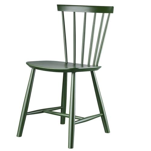 Poul M. Volther stol - J46 - Flaskegrøn