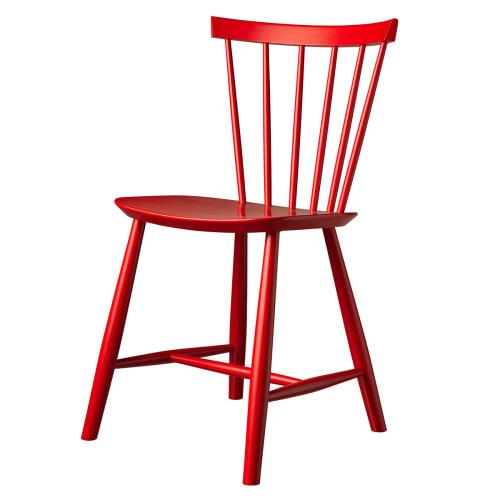 Poul M. Volther stol - J46 - Postkasserød