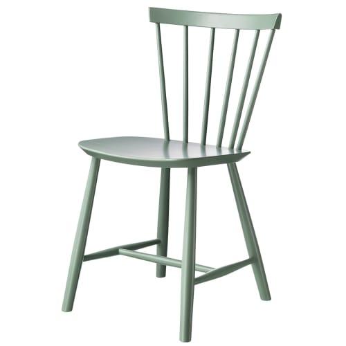 Poul M. Volther stol - J46 - Støvet grøn
