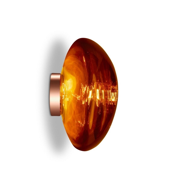 Tom Dixon Melt Surface Væg/Loftlampe LED Kobber Stor