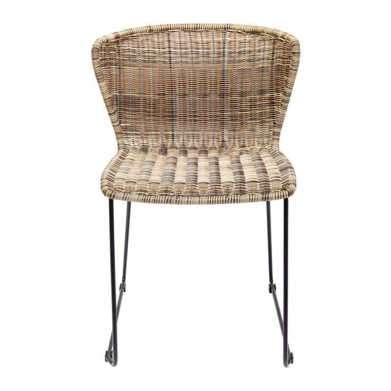 KARE DESIGN Sansibar spisebordsstol - natur plastik og stål