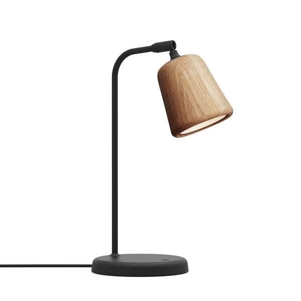 NEW WORKS Material Bordlampe Naturlig Eg