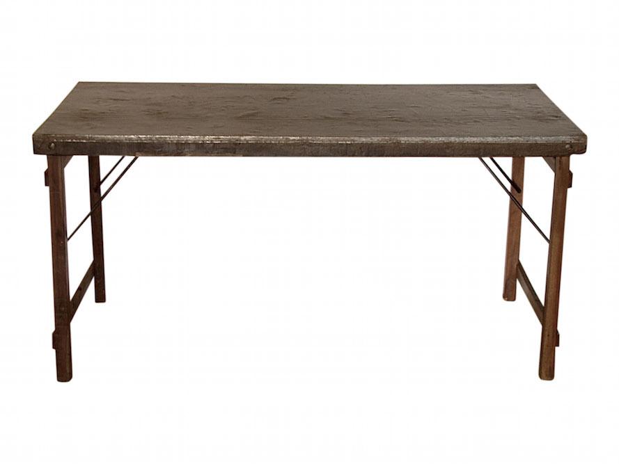 SJÄLSÖ NORDIC Original spisebord - genbrugstræ og genbrugsmetal