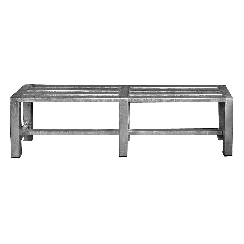 A2 LIVING bænk - galvaniserede stål (146x35)