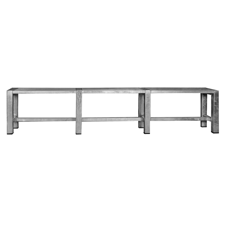 A2 LIVING bænk - galvaniserede stål (217x35)