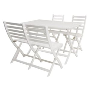 Coop havemøbelsæt - Elsa - Hvid