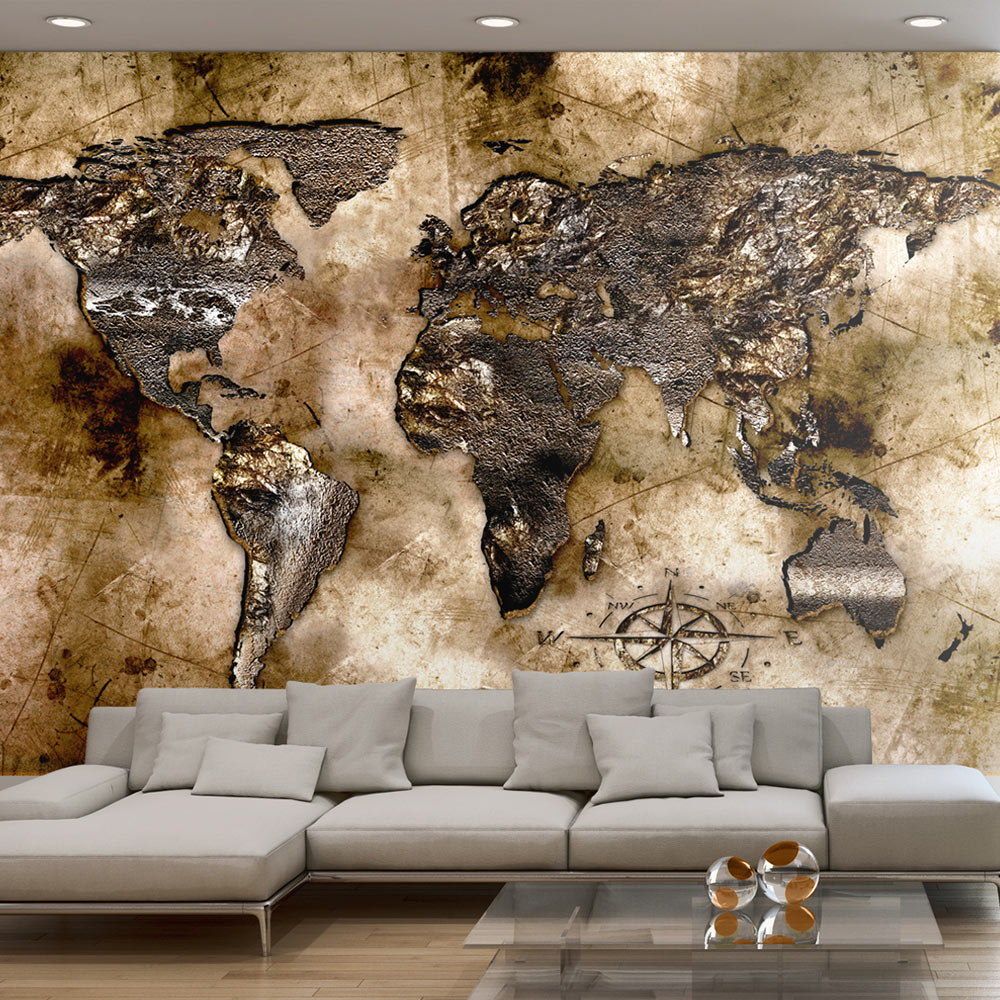 Fototapet - Old world map 100x70